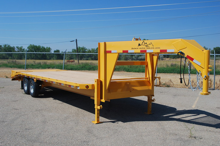 1. Snake River 14K Gooseneck Trailer from Town and Country Commercial Truck and Trailer Sales, Kent (Seattle), WA