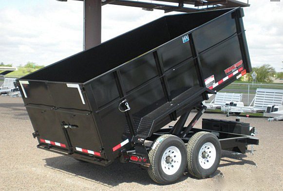F. HE Series Dump Trailers from Town and Country Commercial Trailer and Truck Sales, Kent (Seattle), WA