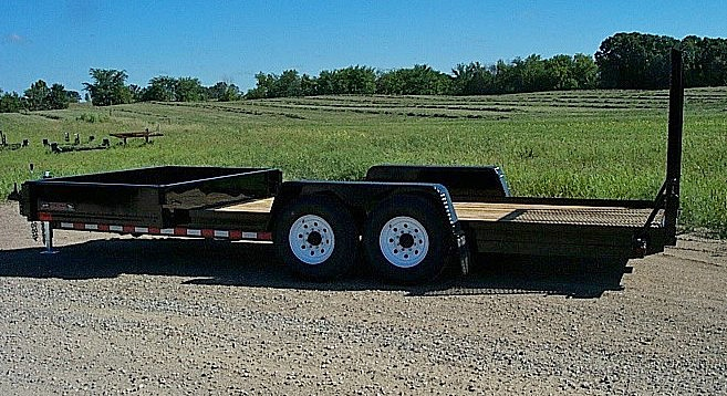 E. HE Series Side Dump Flatbed Trailers from Town and Country Commercial Trailer and Truck Sales, Kent (Seattle), WA