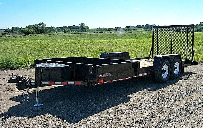 K. HE Series Side Dump Flatbed Trailers from Town and Country Commercial Trailer and Truck Sales, Kent (Seattle), WA