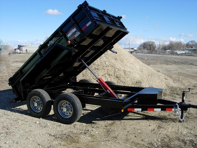 1. Snake River Dump Trailer from Town and Country Commercial Truck and Trailer Sales, Kent (Seattle), WA