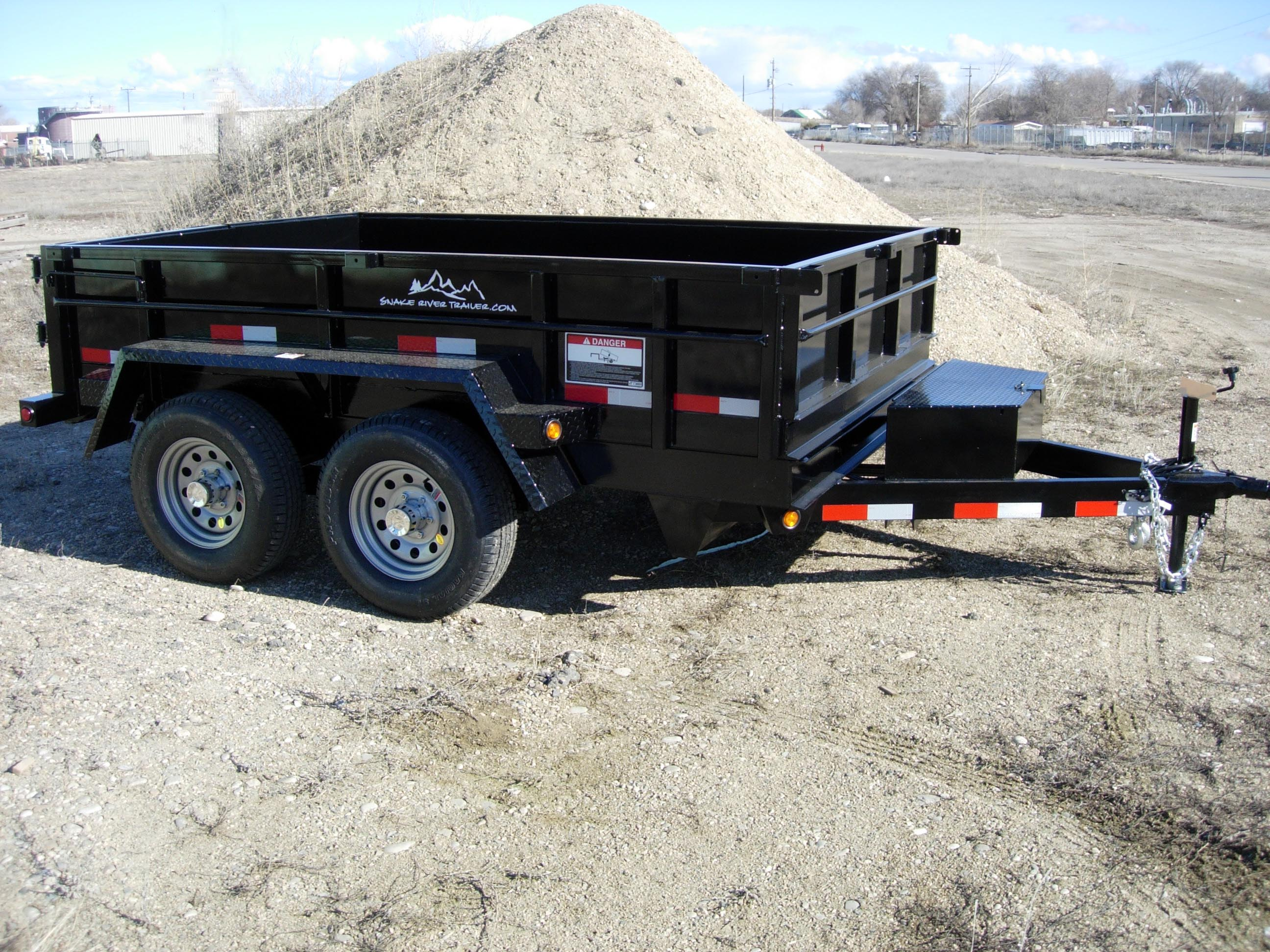 2. Snake River Dump Trailer from Town and Country Commercial Truck and Trailer Sales, Kent (Seattle), WA