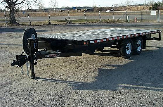 B. STO Series Deck Over Flatbed Trailers from Town and Country Commercial Trailer and Truck Sales, Kent (Seattle), WA