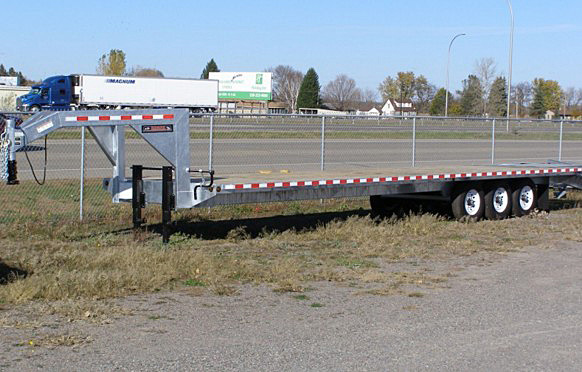 I. STO Series Deck Over Flatbed Trailers from Town and Country Commercial Trailer and Truck Sales, Kent (Seattle), WA