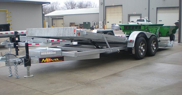 1. Nova TB Series Tilt Bed Trailer from Town and Country Commercial Trailer and Truck Sales, Kent (Seattle), WA