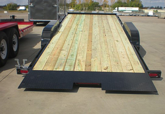 11. Nova TB Series Tilt Bed Trailer from Town and Country Commercial Trailer and Truck Sales, Kent (Seattle), WA