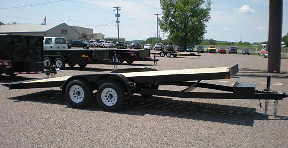2. Nova TB Series Tilt Bed Trailer from Town and Country Commercial Trailer and Truck Sales, Kent (Seattle), WA