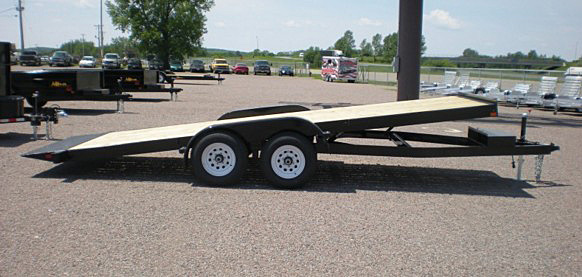 3. Nova TB Series Tilt Bed Trailer from Town and Country Commercial Trailer and Truck Sales, Kent (Seattle), WA
