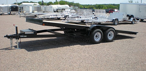 5. Nova TB Series Tilt Bed Trailer from Town and Country Commercial Trailer and Truck Sales, Kent (Seattle), WA