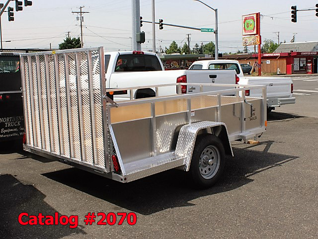 2070.C. New Snake River EZ Hauler aluminum utility trailer from Town and Country Commercial Truck and Trailer Sales, Kent (Seattle), WA