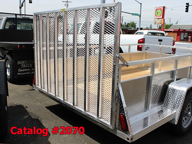2070.F. New Snake River EZ Hauler aluminum utility trailer from Town and Country Commercial Truck and Trailer Sales, Kent (Seattle), WA