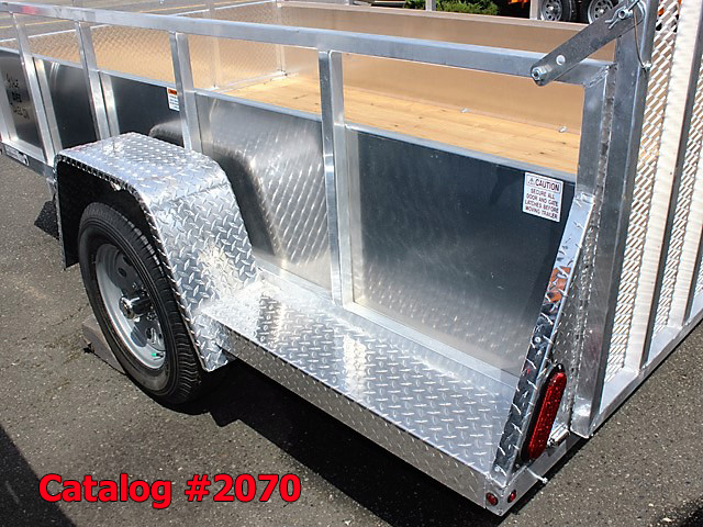 2070.H. New Snake River EZ Hauler aluminum utility trailer from Town and Country Commercial Truck and Trailer Sales, Kent (Seattle), WA