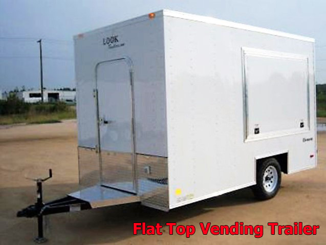 VFT.A. Vending trailers from Town and Country Truck and Trailer, Kent (Seattle) WA, selling utility trailers, dump trailers, equipment trailers, flatbed trailers, vending trailers, construction trailers, office trailers and gooseneck trailers