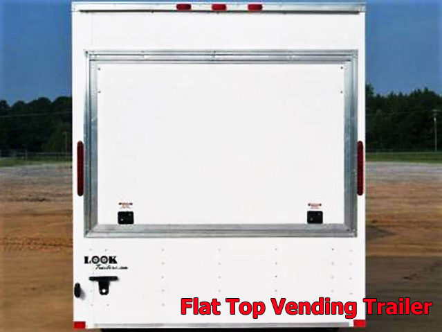 VFT.C. Vending trailers from Town and Country Truck and Trailer, Kent (Seattle) WA, selling utility trailers, dump trailers, equipment trailers, flatbed trailers, vending trailers, construction trailers, office trailers and gooseneck trailers