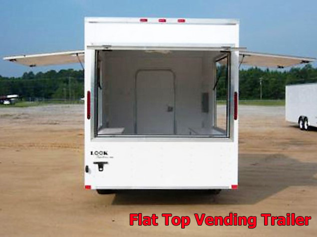 VFT.D. Vending trailers from Town and Country Truck and Trailer, Kent (Seattle) WA, selling utility trailers, dump trailers, equipment trailers, flatbed trailers, vending trailers, construction trailers, office trailers and gooseneck trailers