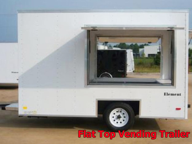 VFT.E. Vending trailers from Town and Country Truck and Trailer, Kent (Seattle) WA, selling utility trailers, dump trailers, equipment trailers, flatbed trailers, vending trailers, construction trailers, office trailers and gooseneck trailers