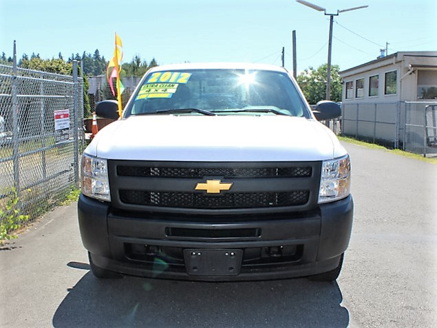 2012ES.E. 2012 CHEVROLET K1500 4x4 Long Box Pickup Truck from Town and Country Commercial Truck and Trailer Sales, Kent (Seattle), WA