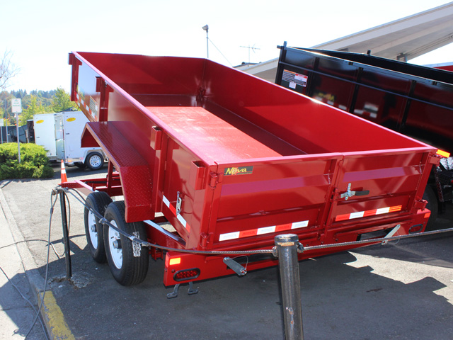 DT.11. Nova DT Series trailers from Town and Country Truck and Trailer, Kent (Seattle) WA