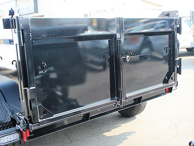 IN6FT.K. 2018 Innovative 6 ft. x 10 ft. x 30 in. tall sided dump trailer from Town and Country Commercial Truck and Trailer Sales, Kent (Seattle), WA