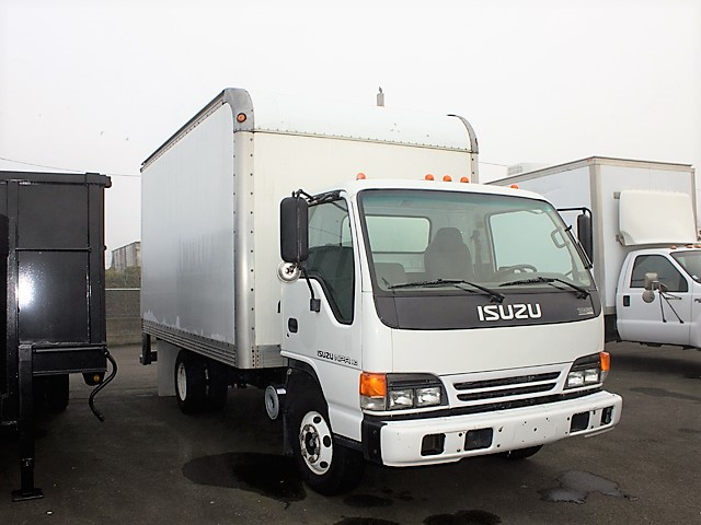6096.C. 2005 ISUZU NPR 14 ft. box truck from Town and Country Commercial Truck and Trailer Sales, Kent (Seattle), WA