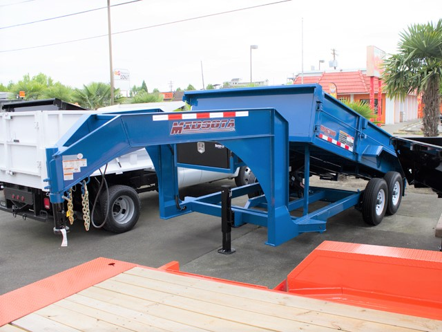 HV14. Midsota Versadump HV Series commercial grade dump trailers from Town and Country Truck / Trailer, Kent (Seattle) WA.