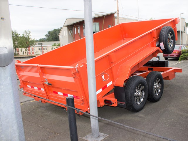 HV2. Midsota Versadump HV Series commercial grade dump trailers from Town and Country Truck / Trailer, Kent (Seattle) WA.