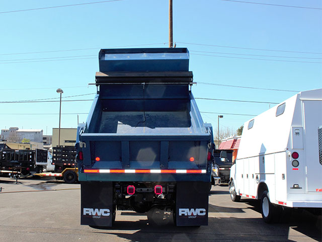 6554.N. 2008 INTERNATIONAL 4300 5 Yard dump truck from Town and Country Truck and Trailer Sales, Kent (Seattle), WA.